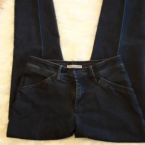 Lee pleated straight leg jeans Sz 6 Medium